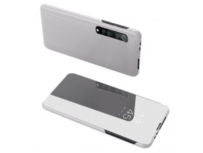 eng pl Clear View Case cover for Xiaomi Mi Note 10 Lite silver 60885 1