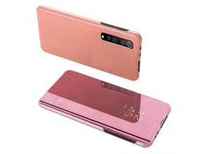 eng pl Clear View Case cover for Xiaomi Mi Note 10 Lite pink 60884 1
