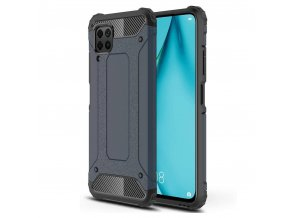eng pl Hybrid Armor Case Tough Rugged Cover for Huawei P40 Lite Nova 7i Nova 6 SE blue 60003 1