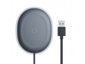 eng pl Baseus Jelly Qi wireless charger 15 W USB USB Type C cable black WXGD 01 61597 1