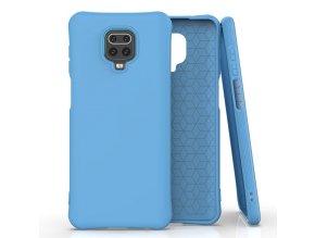 eng pl Soft Color Case flexible gel case for Xiaomi Redmi Note 9 Pro Redmi Note 9S blue 61491 1