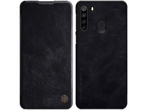 eng pl Nillkin Qin original leather case cover for Samsung Galaxy M21 black 61044 1