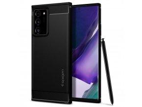 eng pl Spigen Rugged Armor Galaxy Note 20 Ultra Matte Black 62997 1