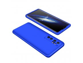 eng pl GKK 360 Protection Case Front and Back Case Full Body Cover Xiaomi Mi Note 10 Lite blue 62849 1