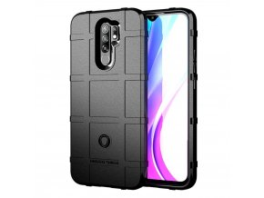 eng pl Case XIAOMI REDMI 9 Armored Rugged Square black 70157 1