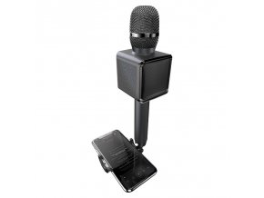 eng pl Dudao wireless bluetooth microphone for karaoke black Y16 black 62443 1