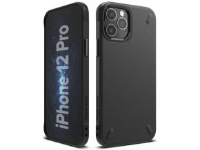 eng pl Ringke Onyx Durable TPU Case Cover for iPhone 12 Pro iPhone 12 black OXAP0022 63914 1