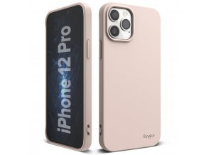 eng pl Ringke Air S Ultra Thin Cover Gel TPU Case for iPhone 12 Pro iPhone 12 pink ADAP0029 63912 1