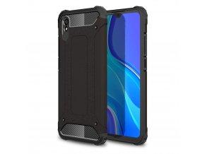 eng pl Hybrid Armor Case Tough Rugged Cover for Xiaomi Redmi 9A black 62856 1