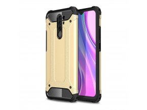 eng pl Hybrid Armor Case Tough Rugged Cover for Xiaomi Redmi 9 golden 62854 1