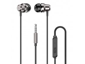 eng pl Dudao in ear earphone 3 5 mm mini jack headset with remote control silver X10 Pro silver 62923 1