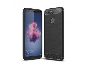 Matný carbon styl kryt na Huawei p smart