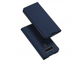 eng pl DUX DUCIS Skin Pro Bookcase type case for LG K61 blue 63258 1