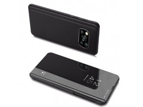 eng pl Clear View Case cover for Xiaomi Poco X3 NFC black 65097 1