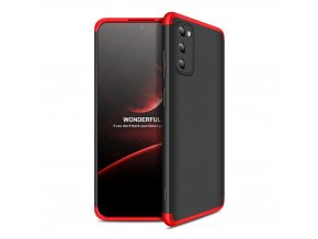 eng pl GKK 360 Protection Case Front and Back Case Full Body Cover Samsung Galaxy A41 black red 60057 1
