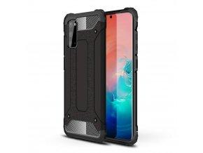 eng pl Hybrid Armor Case Tough Rugged Cover for Samsung Galaxy A41 black 60747 1