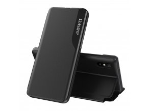 eng pl Eco Leather View Case POCO X3 NFC black 65801 2