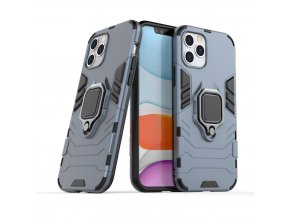 eng pl Ring Armor Case Kickstand Tough Rugged Cover for iPhone 12 Pro iPhone 12 blue 63825 1