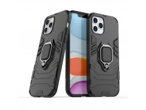 eng pl Ring Armor Case Kickstand Tough Rugged Cover for iPhone 12 Pro iPhone 12 black 63824 1