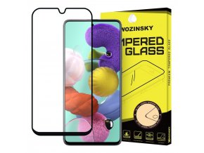 eng pl Wozinsky Tempered Glass Full Glue Super Tough Screen Protector Full Coveraged with Frame Case Friendly for Samsung Galaxy A51 black 56671 1