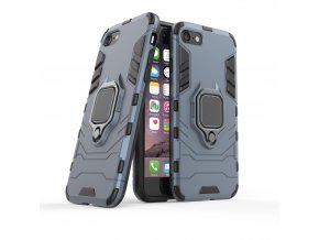eng pl Ring Armor Case Kickstand Tough Rugged Cover for iPhone SE 2020 iPhone 8 iPhone 7 blue 63820 1