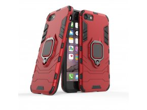 eng pl Ring Armor Case Kickstand Tough Rugged Cover for iPhone SE 2020 iPhone 8 iPhone 7 red 63821 1