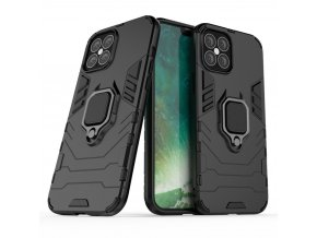 eng pl Ring Armor Case Kickstand Tough Rugged Cover for iPhone 12 Pro Max black 63826 1