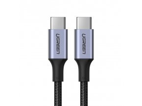 eng pl Ugreen USB Type C USB Type C cable 5 A 100 W Power Delivery Quick Charge 3 0 FCP 480 Mbps 1 5 m gray 70428 US316 60458 1