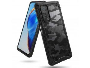 eng pl Ringke Fusion X Design durable PC Case with TPU Bumper for Xiaomi Mi 10T Pro Xiaomi Mi 10T black XDXI0018 66816 1