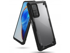 eng pl Ringke Fusion X durable PC Case with TPU Bumper for Xiaomi Mi 10T Pro Xiaomi Mi 10T black FXXI0029 66815 1
