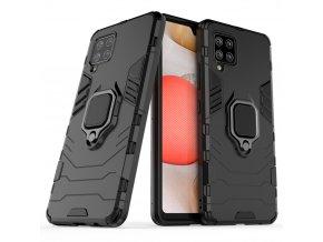 pol pl Ring Armor pancerne hybrydowe etui pokrowiec magnetyczny uchwyt Samsung Galaxy A42 5G czarny 65091 1