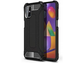 eng pl Hybrid Armor Case Tough Rugged Cover for Samsung Galaxy M31s black 63851 1