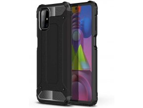 eng pl Hybrid Armor Case Tough Rugged Cover for Samsung Galaxy M51 black 63843 5