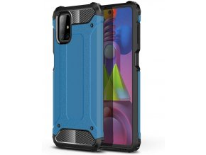 eng pl Hybrid Armor Case Tough Rugged Cover for Samsung Galaxy M51 blue 63844 1