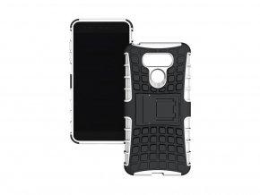 Outdoor odolný obal se stojánkem na Huawei P9 Plus - bílý