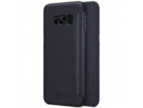 Pouzdro Nillkin Sparkle na Samsung Galaxy S8 černé 1