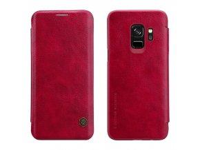 Nillkin qin Leatther pouzdro na Samsung S9 Plus červené
