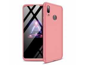 eng pl 360 Protection Front and Back Case Full Body Cover Huawei P Smart 2019 pink 47425 1