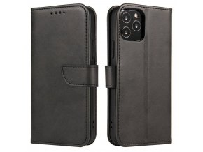 eng pl Magnet Case elegant bookcase type case with kickstand for Samsung Galaxy S21 5G S21 Plus 5G black 66051 1
