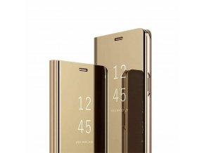 eng pl Case XIAOMI REDMI 9 Clear View Cover flip case gold 70030 1