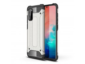 eng pl Hybrid Armor Case Tough Rugged Cover for Samsung Galaxy S20 silver 56272 1