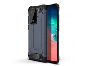 eng pl Hybrid Armor Case Tough Rugged Cover for Samsung Galaxy S20 Ultra blue 56266 1