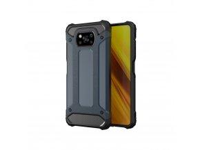 eng pl Hybrid Armor Case Tough Rugged Cover for Xiaomi Poco X3 NFC blue 65178 1