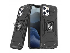 eng pl Wozinsky Ring Armor Case Kickstand Tough Rugged Cover for iPhone 12 Pro Max black 66264 1