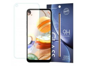 eng pl Tempered Glass 9H Screen Protector for LG K61 packaging envelope 60650 1