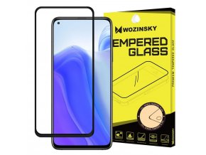 eng pl Wozinsky Tempered Glass Full Glue Super Tough Screen Protector Full Coveraged with Frame Case Friendly for Xiaomi Redmi Note 9T 5G Redmi Note 9 5G black 68091 1