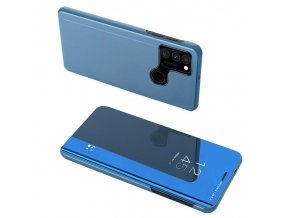 eng pl Clear View Case cover for Samsung Galaxy A12s blue 66594 8