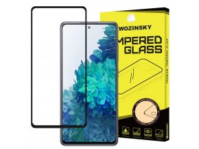 eng pl Wozinsky Tempered Glass Full Glue Super Tough Screen Protector Full Coveraged with Frame Case Friendly for Samsung Galaxy S20 FE black 64848 1
