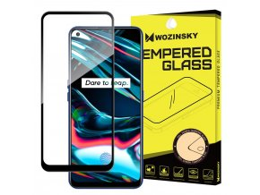 eng pl Wozinsky Tempered Glass Full Glue Super Tough Screen Protector Full Coveraged with Frame Case Friendly for Realme 7 Pro black 67919 1