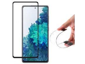 eng pl Wozinsky Full Cover Flexi Nano Glass Hybrid Screen Protector with frame for Samsung Galaxy S20 FE 5G black 64369 1